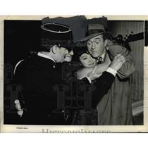 "1963 Press Photo Jimmy Stewart in ""Take Her, She's Mine"" Scene - orp28820"