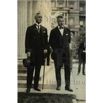1923 Press Photo Dr. Tresic Anthony Pavicic, Croatian Minister, J. Butler Wright