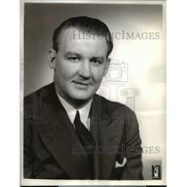 1940 Press PhotoTom Tully Lead the Daytime Dramatic Serial The Home of the Brave