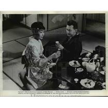 """1961 Press Photo Miyoshi Umeki Stars in the Movie """"Sayonara"""" - orp28749"""