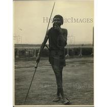 1924 Press Photo Ny Masai runner at a track meet - net12499