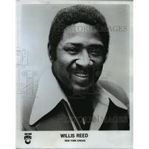 1978 Press Photo Willis Reed, New York Knicks - orc15659