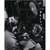 1963 Press Photo Airman 2. C. William L. Reed monitoring flight on radar scope