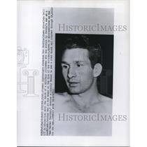 1958 Press Photo Lightweight champ Lew Jenkins in Colorado Springs CO