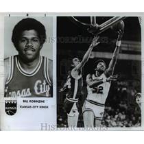 1982 Press Photo Bill Robinzine of the Kansas City Kings - orc11647
