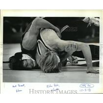1982 Press Photo Putnam's Mike Dumolt lost only 2 of 17 matches, - orc16994