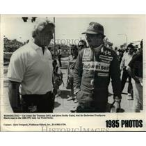 1985 Press Photo Winning Duo- Jim Trueman and Bobby Rahal - orc11675