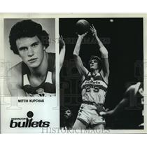 1980 Press Photo Mitch Kupchak, Washington Bullets - orc14514