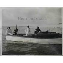 1935 Press Photo William B. Leeds Jr in Miami-Nassau Yacht Race - ney11376