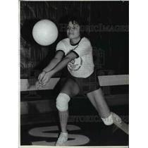 1982 Press Photo North Marion co. captain Sherri Lambert lead the Huskies