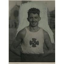 1921 Press Photo Dan Shea of Pastime AC of NY Decathlon all around winner