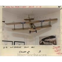 1991 Press Photo Curtiss JN-4D Jenny-model plane - orb76433