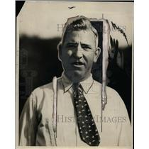1929 Press Photo Jack Rourke football trainer for Colgate University - net11006