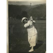1922 Press Photo Women's National Golf Championship in W VA Mrs William A Gavin