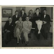 1937 Press Photo The Milwaukee Journal - Radio staff - mjx04178