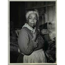 """1963 Press Photo Ethel Waters in """"Go Down, Moses"""" - orp29300"""