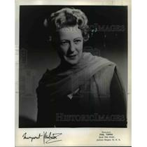 1964 Press Photo Margaret Webster, a Shakespearean actress - orp29302