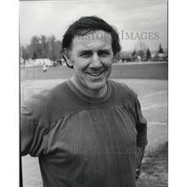 1978 Press Photo Larry Weir Ferris Wrestling and Softball Coach - spa29053