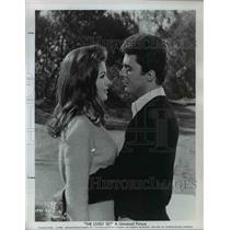 "1964 Press Photo Pamela Tiffin and James Darren in ""The Lively Set"" - orp29882"
