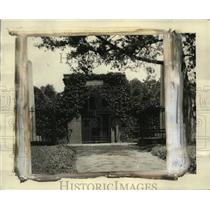 1924 Press Photo George Washington's tomb, on the spot he himself selected
