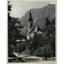 1984 Press Photo Little rural settings in the Austrian village of Hintersee