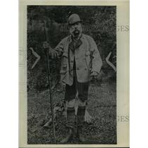 1929 Press Photo Austria Royal Family, Frances Joseph Emperor on a hunting trip.