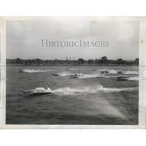 1947 Press Photo First heat, inboard race of President's Cup Regatta, Washington