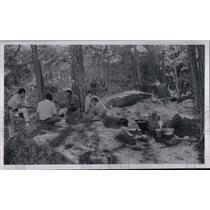 1970 Press Photo American Indians having fun - cvo01680