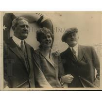 1926 Press Photo Europeans Arriving on the S.S. Majestic - nef07619