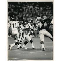 1986 Press Photo #65 Gary Zimmerman, Minnesota Vikings tackle - orc15346