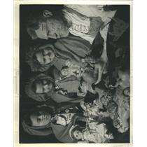 1940 Press Photo Toy Maker's Doll Howell Neighborhood - RRR42121