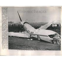 1965 Press Photo Airplane Crash