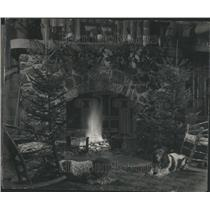 1932 Press Photo Paul Revere Home Replica Chicago