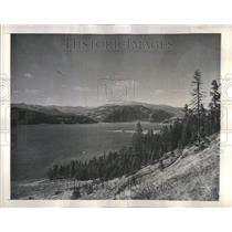 1945 Press Photo Lake Roosevelt