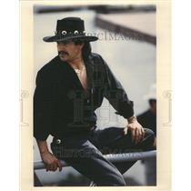 1992 Press Photo Jesus Gambos Plaza Garibaldi Rodeo - RRR44965