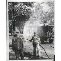 1934 Press Photo Parks and Boulevards Department - RRR45059