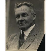1924 Press Photo Ernest A. Blood - nef08392