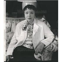 1937 Press Photo Florence Reed Lawrence Grossmith Actor