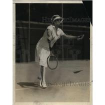 1927 Press Photo Helen Wills US tennis champion at Pasadena CA tournament