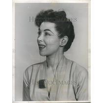 1954 Press Photo  Kim Townsend  Television  Net work
