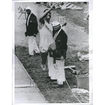 1965 Press Photo Claronce Robinson Brigham Young Univer