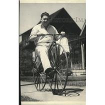 1934 Press Photo Bicycle - spa31695