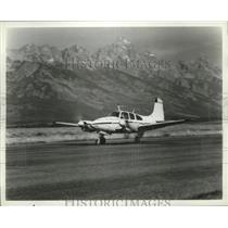 1967 Press Photo E95 Travel Air Plane by Beech Aircraft Corporation - ney16695