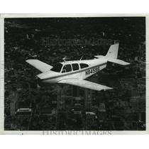 1967 Press Photo Beech Aircraft Bonanza E33A Plane - ney16984