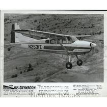 1963 Press Photo Cessna 185 Skywagon Plane - ney17436