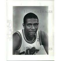 1986 Press Photo Scooter McCray, Cleveland Cavaliers - cvb64452