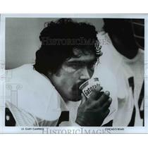 Press Photo LB, Gary Campbell, Chicago Bears - cvb69307