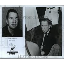 1976 Press Photo Larry Costello Head Coach Milwaukee Bucks - cvb72480