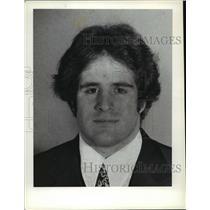 1978 Press Photo Burt Klein, Shaker Heights, Wrestling - cvb73059