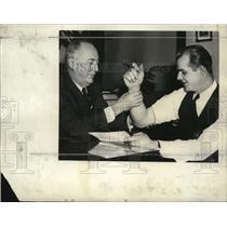 1935 Press Photo Henry Bendinger and Jack Kloza - mja22967